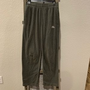 The North Face men's polartec fleece pants SZ S